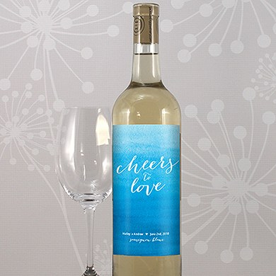 Aqueous Wine Label