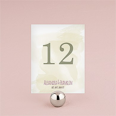 Natural Charm Table Numbers
