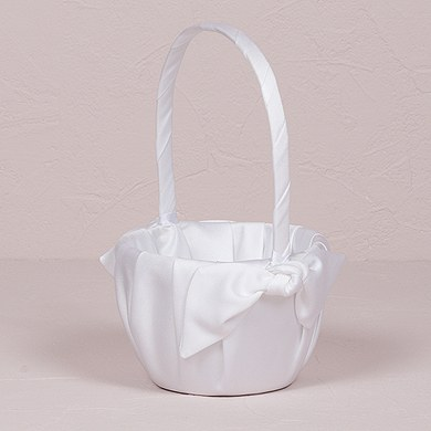 Beverly Clark Tie the Knot Collection Flower Girl Basket
