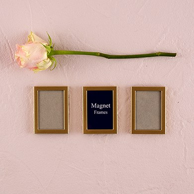 wedding magnet mini photo frame favors