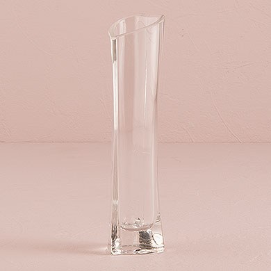 Small Glass Heart Shaped Wedding Ceremony Vase