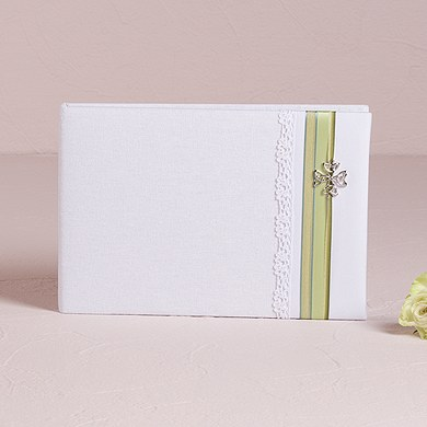 Celtic Charm Traditional Wedding Reception Guest Book