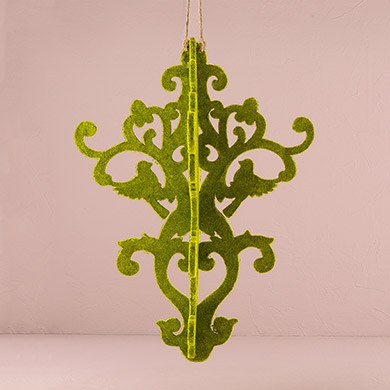 Decorative Artificial Moss Chandelier Wedding Decoration Large