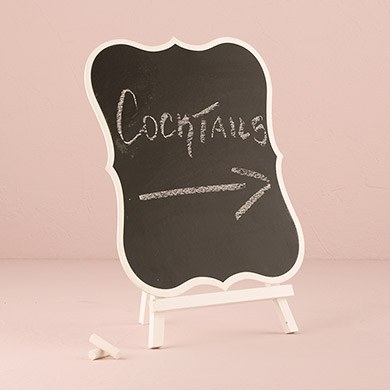Decorative Chalkboards With White Frame Large