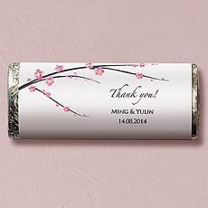 Cherry Blossom Nut Free Gourmet Milk Chocolate Bar