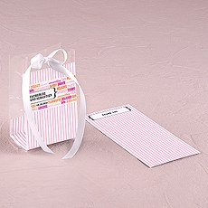 Personalized Cellophane Candy  Bag Insert