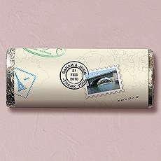 Vacation Theme Nut Free Gourmet Milk Chocolate Bar