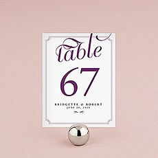 Expressions Table Number