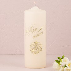 Parisian Love Letter Unity Candle