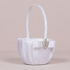 Beverly Clark The Crowned Jewel Flower Girl Basket