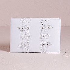 Beverly Clark Royal Lace Collection Guest Book