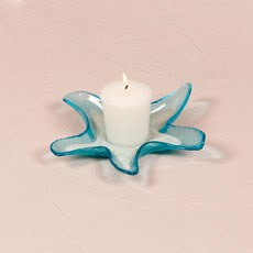 Starfish Glass Candle Holders / Dishes - Small