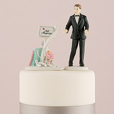 """Still Shopping"" Message Board Mix & Match Cake Topper"