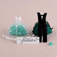 Bride & Groom Candy Favor Bags