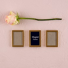 Magnet Back Mini Photo Frames