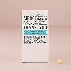 Abundance of Thanks Self-standing Printed Goodie Bag
