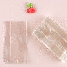 Clear Flat Bottom Gusset Cellophane Bags