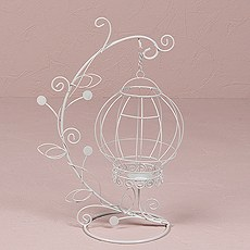 Ornamental Wire Vine with Suspended Holder Centerpiece