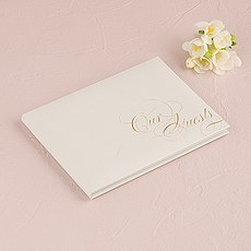 Pure Elegance Special Occasion Guest Book With Blank Pages