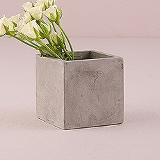 Resin Cement Cube Planter