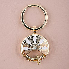 Gold Dream Catcher Keychain Wedding Favour