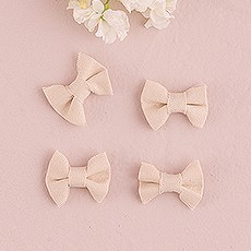 Mini Pre-tied Canvas Bows