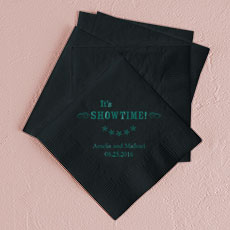 It's Showtime! Printed Napkins
