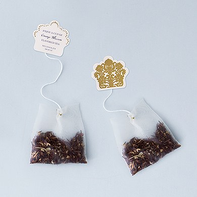 Tea Bag Diecut Sticker