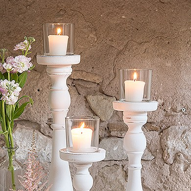 Compressed Votive Wedding Candles