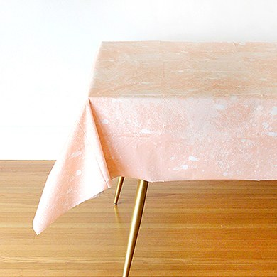 Blush Paper Table Cloth
