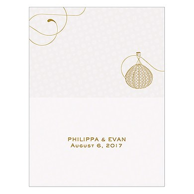 Vintage Travel Place Card With Fold
