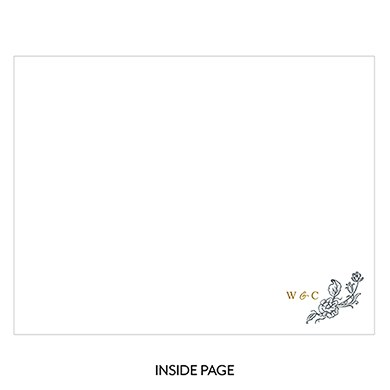 Clear Acrylic Wedding Guest Book   Antique Chic Etching