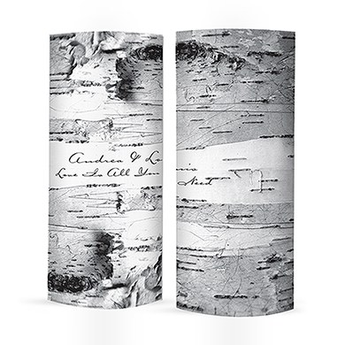Birch Bark Luminary Wrap