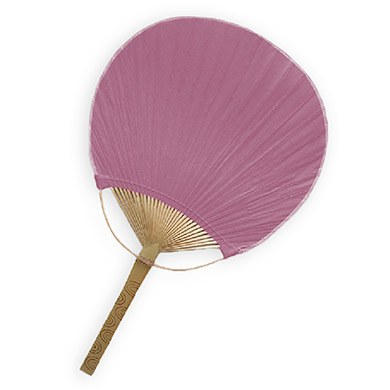 Paddle Fan Plum