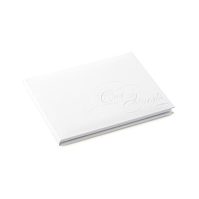 Pure Elegance Special Occasion Wedding Guest Book With Blank Pages
