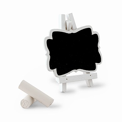 Decorative Chalkboards With White Frame Small
