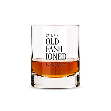 Classic Rocks Glass - Old Fashioned Printing