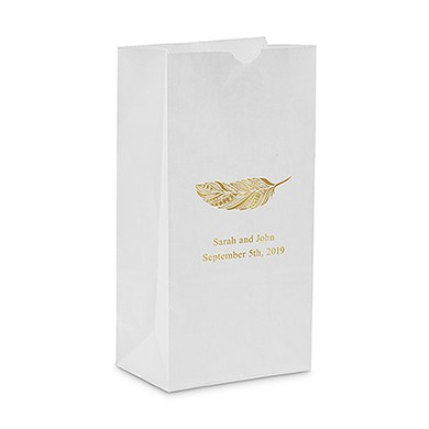 standing candy bag wedding favor
