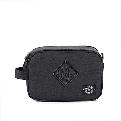 The Valley Travel Kit Bag - Black