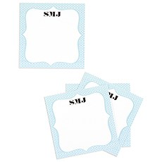 Personalized Well Wishing Cards with Tent Card