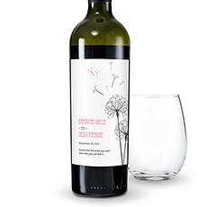 Dandelion Wishes Wine Label