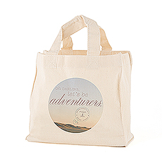 Wanderlust Oh Darling, Let's Be Adventurers Personalized Tote Bag