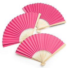 Paper Fan - Berry / Hot Pink