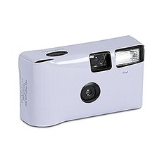 Lilac Single Use Camera – Solid Color Design