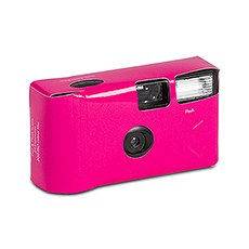 Fuchsia Single Use Camera – Solid Color Design
