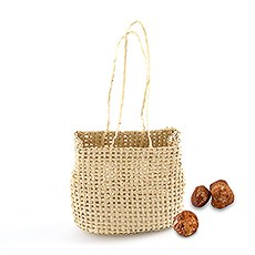 Mini Hessian Beach Bag Party Favors