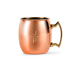 Moscow Mule Mug - Stacked Monogram Etching