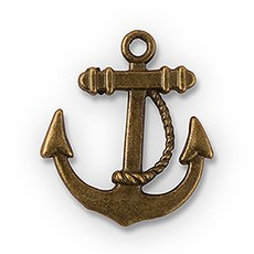 Boat Anchor Charm
