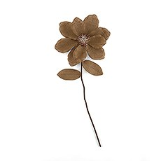 Oversized Decorative Stemmed Jute Flower