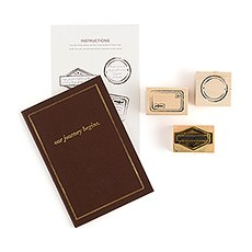 """Our Journey Begins"" Travel Inspired Alternative Guest Book Kit"